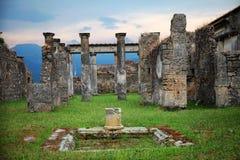Pompei stock photography