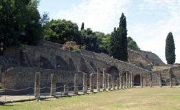 Pompei. Royalty Free Stock Images