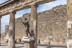 Pompei Royalty Free Stock Photo