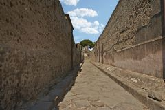 pompei arkivbilder