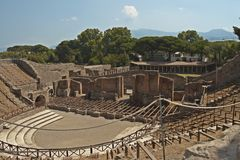 Pompei Royalty Free Stock Images