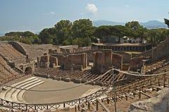 pompei royaltyfria bilder