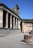 Pompei. Shot from the Pompei ruins Stock Photo