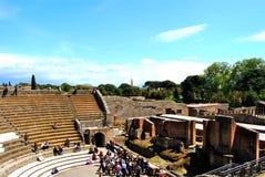 Pompei amfiteatr zdjęcie stock