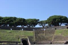 Pompei Amphitheatre Stock Image