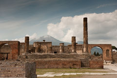Pompei - Ancient Rome Stock Photography