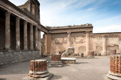 Pompei - Ancient Rome Stock Photo