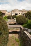 Pompei - Ancient Rome - House of Octavius Quatro Royalty Free Stock Photography