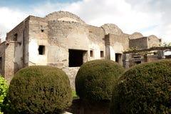 Pompei - Ancient Rome - House of Octavius Quatro Royalty Free Stock Images