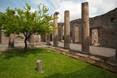 Pompei - Ancient Rome - House of Octavius Quatro Stock Photos