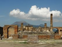 Pompei ekskawacja obraz stock