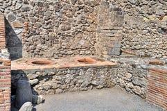 Pompei, Italië stock afbeeldingen
