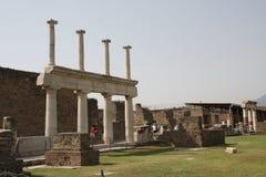 Pompei Italia fotografia stock