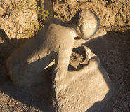 Pompei in Italy. Images from historical town Pompei Stock Photos