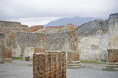 Pompei, Italy Royalty Free Stock Images