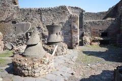 Pompei - l'Italia Fotografie Stock Libere da Diritti