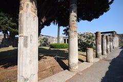 Pompei - l'Italia Fotografia Stock Libera da Diritti