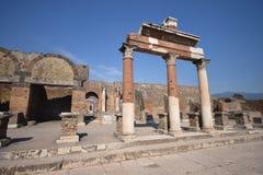 Pompei - l'Italia Fotografia Stock