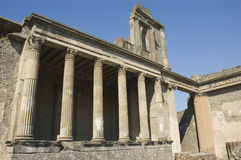 Pompei_Roman_Antiquites Stock Photography