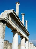 Pompei_Roman_Antiquites Stock Photos