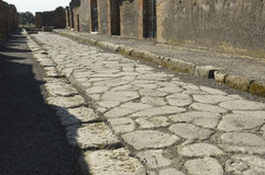 Pompei_Roman_Antiquites immagine stock