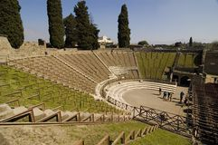 Pompei_Roman_Antiquites Stock Fotografie