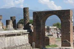 Pompei roman Forum Stock Images