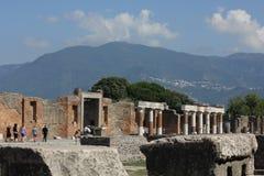 Pompei roman Forum Stock Photography