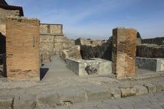 Pompei, ruïnes Royalty-vrije Stock Fotografie