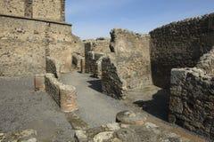 Pompei, ruïnes Royalty-vrije Stock Afbeeldingen