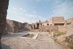 Pompei ruins. Stock Image