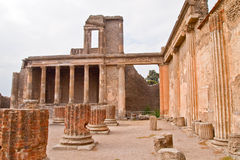 Pompei ruins Italy Royalty Free Stock Photo