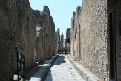 Pompei Royalty Free Stock Image