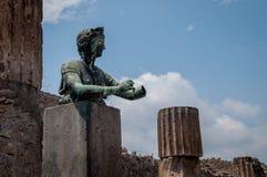 Pompei ruins Stock Image