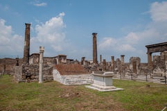 Pompei ruins Royalty Free Stock Images