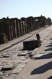 Pompei ruins street Royalty Free Stock Photos