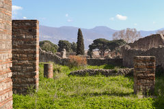 Pompei ruins Stock Photo