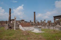 Pompei ruiny Obrazy Royalty Free