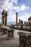 Pompei, sito archeologico vicino a Napoli, Italia immagini stock