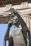 Pompei. Standbeeld van Apollo Royalty-vrije Stock Afbeeldingen