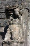 Pompei - statua Zdjęcia Stock