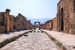 Free Pompei Street Royalty Free Stock Photos - 71999978