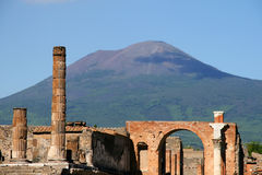 Pompeia, Italia imagem de stock