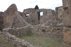 pompeii Arkivbild