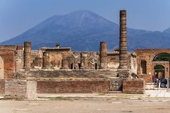 pompeii Arkivfoto