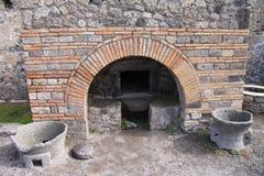 pompeii photographie stock