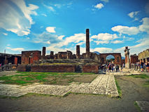 pompeii image stock