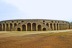 Pompeii - amphitheatre Stock Photography
