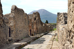 Pompeii ancient Roman city Italy Royalty Free Stock Photo