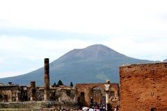Pompeii ancient Roman city Italy Stock Photos